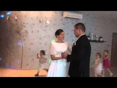 Wesele  - Pierwszy Taniec Pary Młodej - Kamerzysta Na Wesele Wrocław,wideofilmowanie