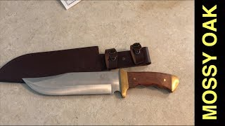 MOSSY OAK Bowie Knife Review $10
