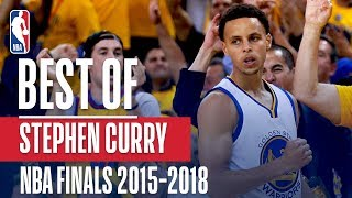 The Best of Stephen Curry! | NBA Finals 2015-2018