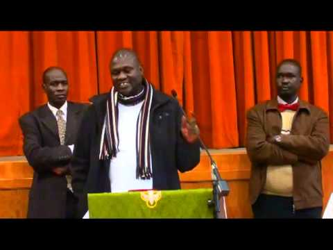 Dr. Riek Machar, Republic of South Sudan Vice President at St. John Lutheran