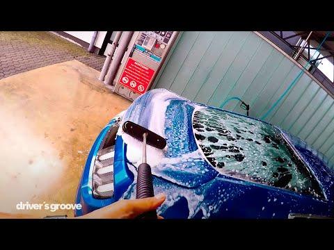 Auto in 15 Minuten waschen! Ford Mustang Autowäsche.