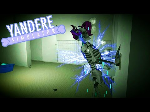 What A SHOCKING End (huehuehue)   Yandere Simulator #6 (Electrocution/Bike Update)