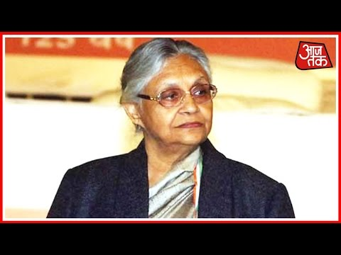 Sheila Dikshit is CM Face For Congress In Uttar Pradesh