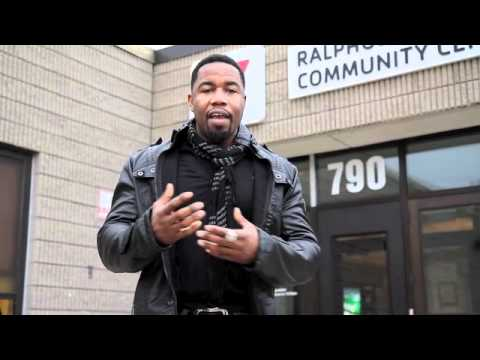 Michael Jai White - were the training to teach martial arts began - YMCA