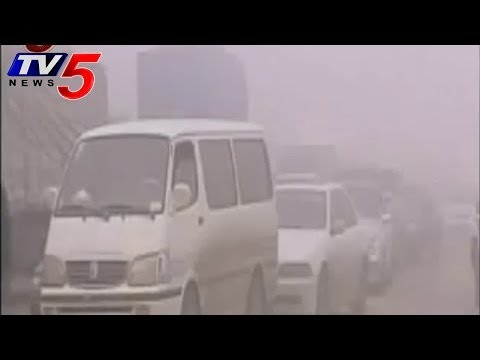 Yellow dust storms from China  -  TV5