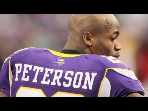 Vikings ban Adrian Peterson