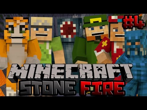 Minecraft Xbox Stonefire PvP Map 4 w Stampy Squid InTheLittleWood ChooChoo