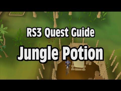 RS3: Jungle Potion Quest Guide – RuneScape