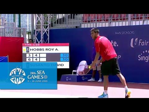 Tennis - Men's Singles Quarter-Final (Day 6) | 28th SEA Games Singapore 2015