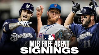 MLB Hot Stove Update (Early December) | Mike Moustakas, Zack Wheeler, Yasmani Grandal and more!
