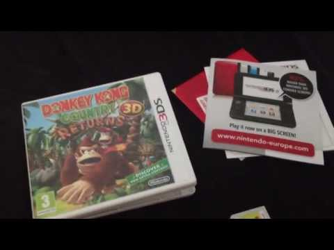 Un Boxing Nintendo 3DS Donkey Kong Country Returns 3D