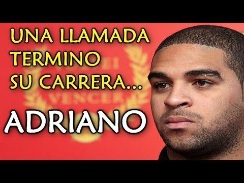 """FUTBOLISTAS QUE FRACASARON COMO SUPERESTRELLAS: ADRIANO """"EL EMPERADOR""""   IMPERADOR   GARYES"""