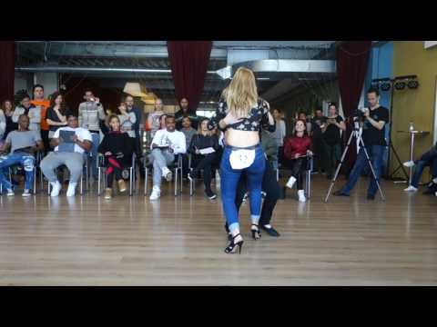 00024 AZNLZF2017 Novice Jack and Jill with Names TBT ~ video by Zouk Soul