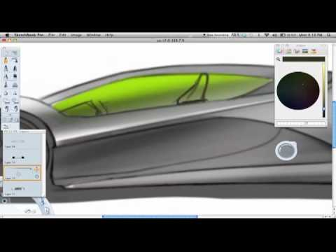 Car Sketching with Sketchbook Pro