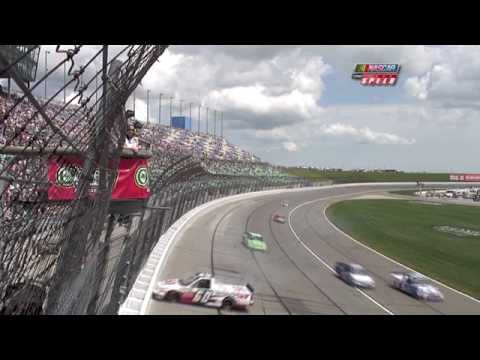 2010 O'Reilly Auto Parts 250 - Narain Karthikeyan Crash