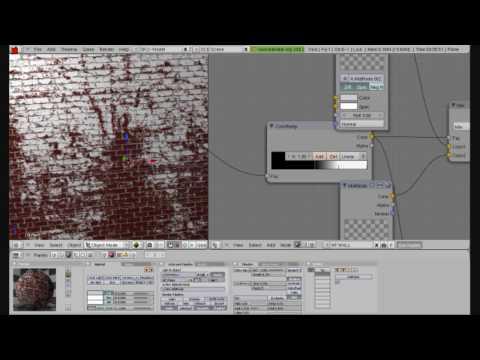 Blender GLSL - Blend Mask Effect w Material Nodes
