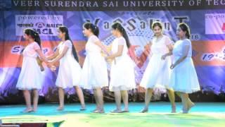 MAA THEME   CONTEMPORARY DANCE    VIBRANZ   VASSAUNT 2K16    VSSUT(BURLA)