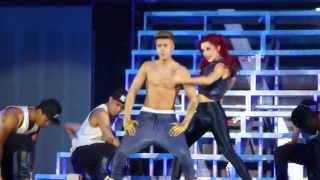Justin Bieber - Boyfriend (live) Arnhem Gelredome Netherlands 13.04.2013 concert