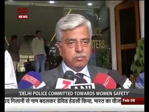 Delhi police committed towards women safety