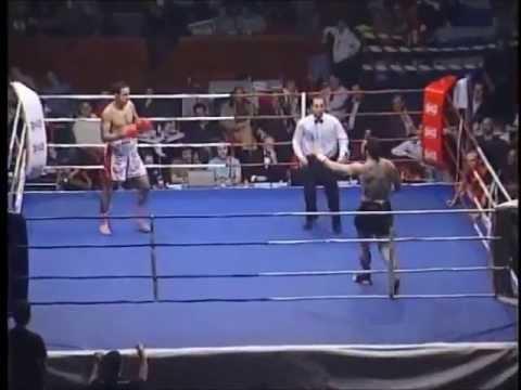 Zakaria Misbahi Vs Valdir Kabeza - Combate Kick Boxing Profesional (Combate Completo)