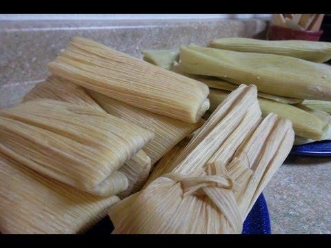 PAN Y TAMALES DE ELOTE CON GRANOS FRESCOS - DULCE Y SALADO - receta antigua - lorenalara144