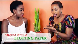 HOW TO USE  B'LIVE BLOTTING PAPER