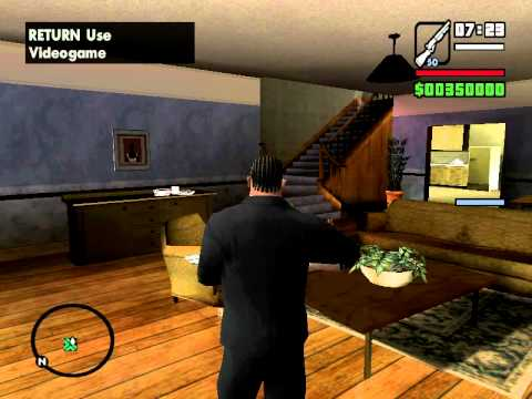 GTA San Andreas CJ's Mom Ghost