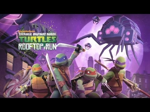 Teenage Mutant Ninja Turtles: Rooftop - Universal - HD Gameplay Trailer