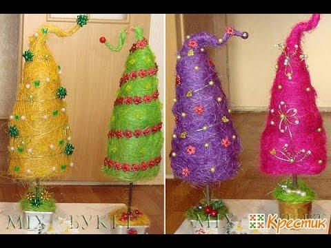 БИЗНЕС ИДЕЯ: Изготовление необычных новогодних елок!