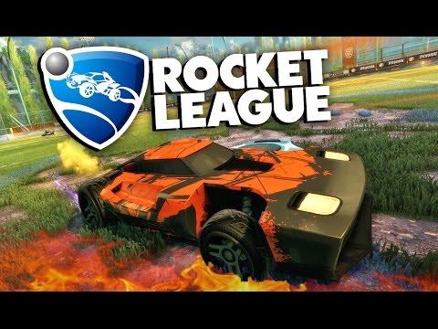 Rocket League - Безумный футбол! #1