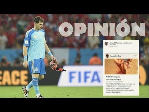 """""""La bronca de Casillas en Instagram"""" (Opinión & Crítica)"""