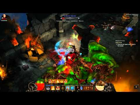 Diablo 3 - Monk Tank (Submission) - Act 3 Inferno Farming Guide - Solo Cydaea & Azmodan - 1.0.4