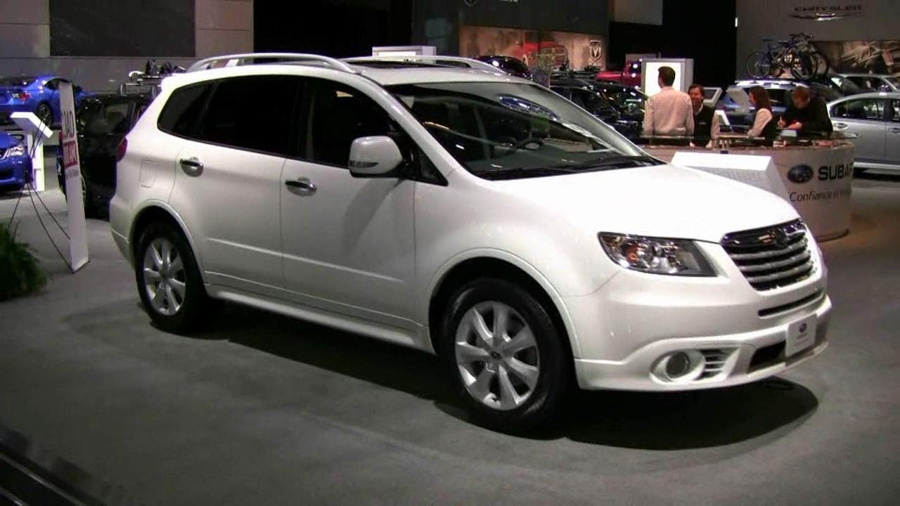2012 subaru b9 tribeca exterior and interior at 2012 montreal auto show youtube