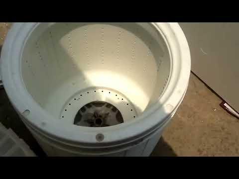 Lavadora Mabe no centrifuga
