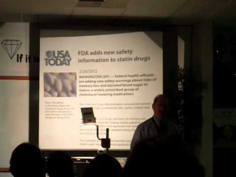 Nbr 33 Dr Wallach talks about elevated cholesterol and triglycerides and statin drugs 10 12 2012