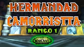 World of Warcraft LEGION | CAZADOR PUNTERÍA - HERMANDAD CAMORRISTA 7.1.5 - RANGO 1