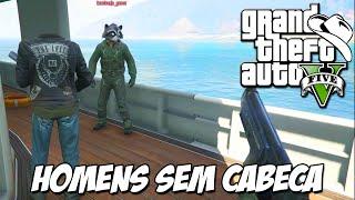 GTA 5 Online (PS4) - Serviço insano, Cena do Titanic e homens sem cabeça