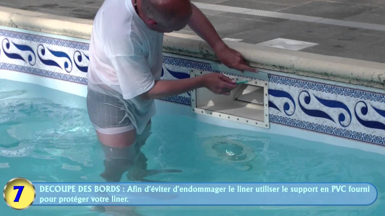 Solution ligne d 39 eau piscine swimming pool border Prix frise piscine