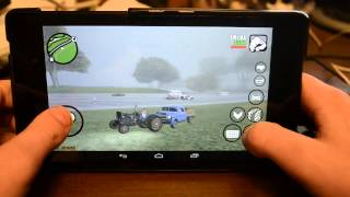 Grand Theft Auto: San Andreas Android Gameplay Nexus 7 2013