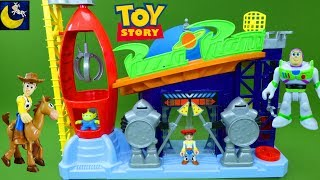 NEW Toy Story Toys Fisher Price Imaginext Pizza Planet Playset Truck Buzz Lightyear Woody Set Toys