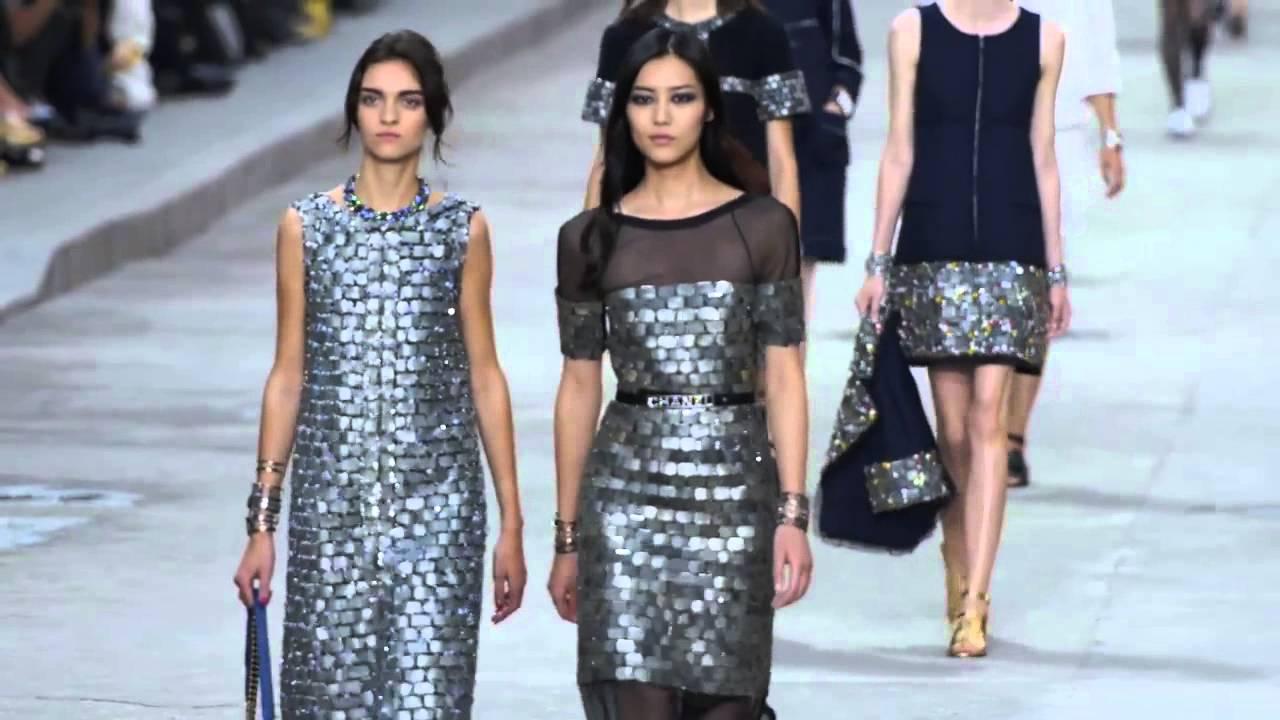Paris Moda Haftası Chanel 2015 İlkbahar Yaz