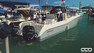 WORLD CAT BOATS BRAND NEW 325 CC - Full SeaTrial