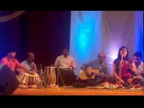 Sithara performing the Ghazal - Yeh Dil Yeh Pagal Dil Mera