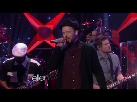 "Justin Timberlake – TKO (Live On ""Ellen"" 2013)"