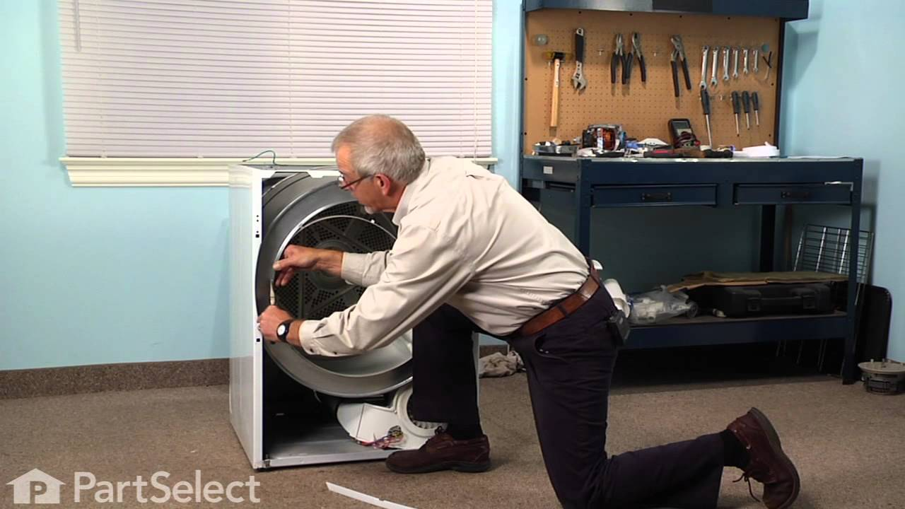 westinghouse dryer belt replacement instructions