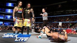 American Alpha vs. The Usos - SmackDown Tag Team Tournament Match: SmackDown LIVE, Sept. 6, 2016