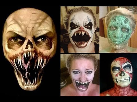 Good Ways To Paint Your Face For Halloween