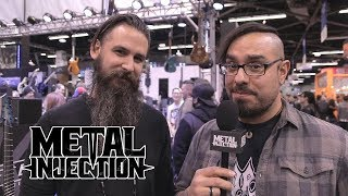 NAMM 2018 Report - Members of MEGADETH, Behemoth, Dillinger Talk New Gear