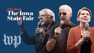 WATCH LIVE: 2020 presidential candidates make their pitch at the Iowa State Fair