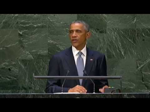 President Obama addresses UN, calls for dismantling IS 'network of death'